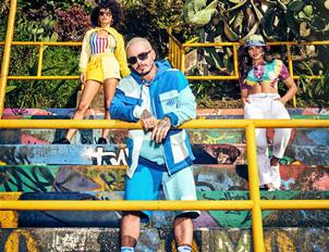 GUESS x J Balvin Colores胶囊系列上线 引爆时尚新潮流