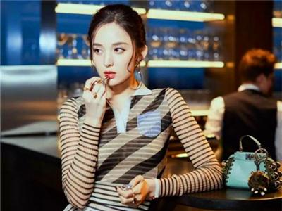 FENDI芬迪品牌大使古力娜扎2018春夏时尚大片