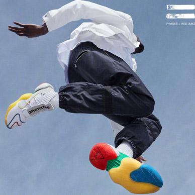 adidas與Pharrell Williams聯手打造CRAZY BYW LVL X PW 經典鞋