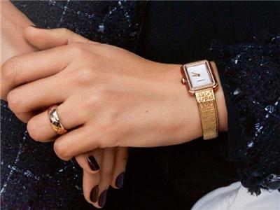 法國超模拍攝香奈兒Chanel全新BOY·FRIEND腕表廣告大片