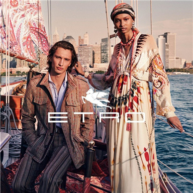 ETRO全新发布2020春夏广告大片 扬帆出海欢乐的度假旅行