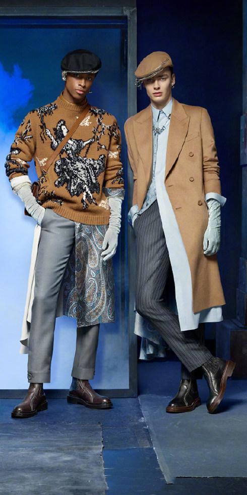 DIOR迪奥发布二零二零冬季男装系列广告大片