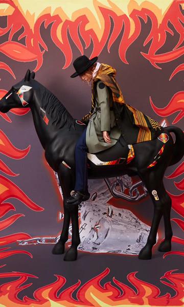 范丞丞身着加拿大鹅BRANTA系列Lumen风衣 演绎青春无畏