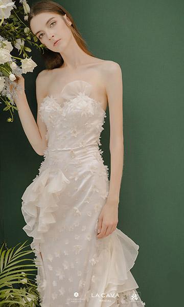 高级婚纱定制LA CAVA 2020 春夏新品发布会