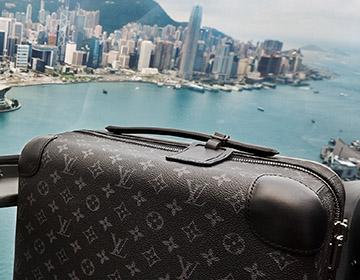 旅行的真諦:路易威登HORIZON 四輪拉桿箱亮相香港