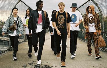 MCM X A BATHING APE联名胶囊系列发布 奢华风格与街头潮流的碰撞