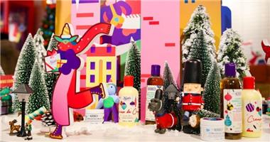 骨头先生以携手芬兰艺术家 在上海打造了一座圣诞奇幻列车