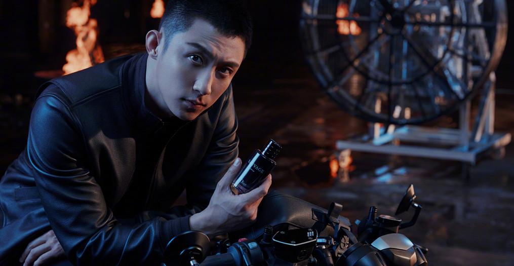 黄景瑜成为全新DIOR迪奥中国旷野男士香水系列形象大使