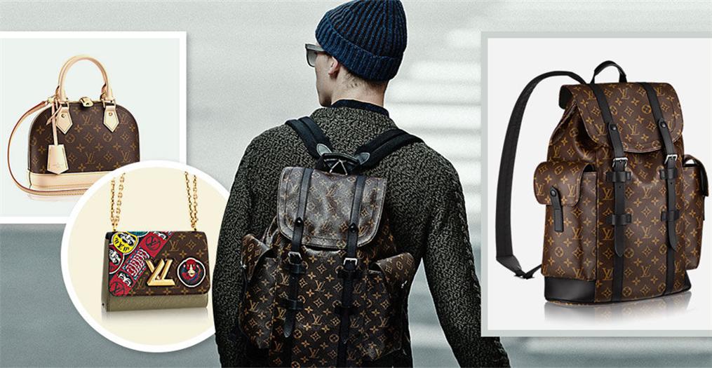 LV 2018春夏男裝系列發布,同時又出了一大批帥氣的包包!