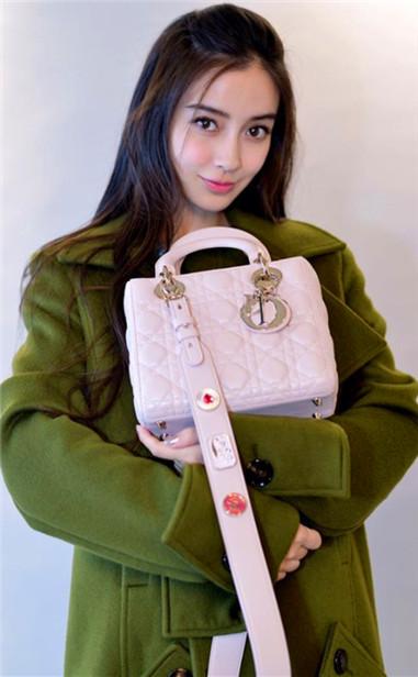 迪奥全新Lady Dior Small七夕限定款手袋