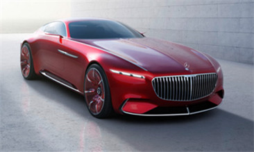 奔驰正式发布Vision Mercedes-Maybach 6