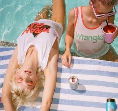 Wrangler释出2018夏季系列新款广告大片