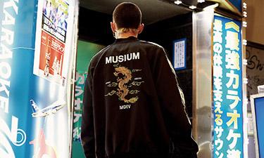 MUSIUM DIV. 2019春夏系列日本街拍特辑