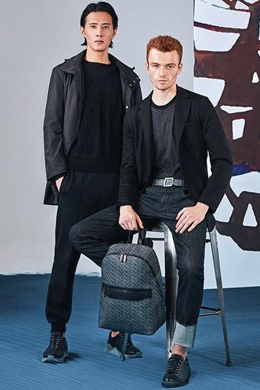 意大利奢华男装品牌Canali 科技耀黑 Black Edition